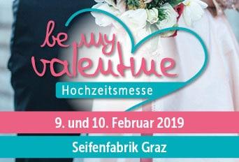 Banner be my valentine Steirischer Billdungsberater